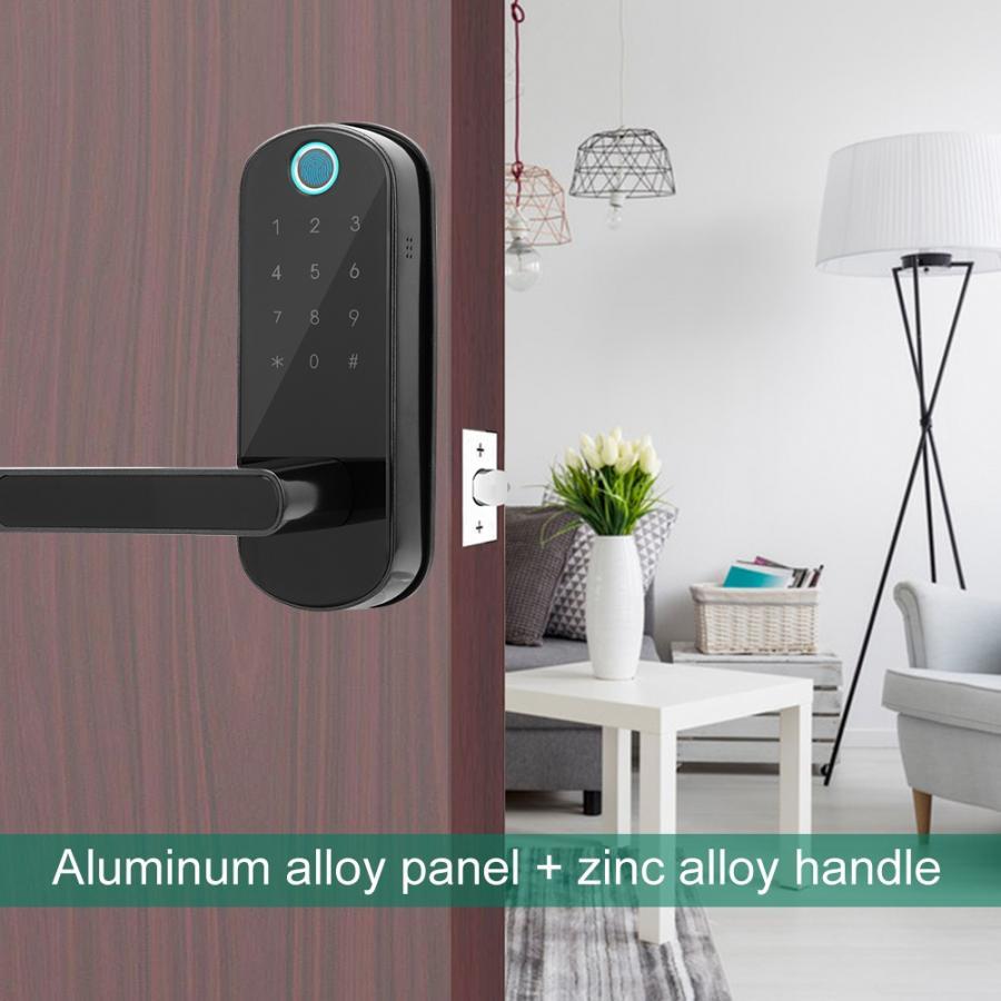 Fingerprint Door Lock Smart Bluetooth Digital Password Ic Karte