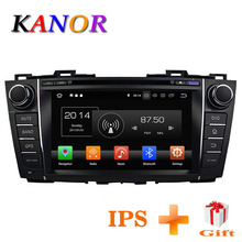 KANOR Android 8 0 Octa Core 4g 32g IPS Screen 2din Car DVD Player For Mazda