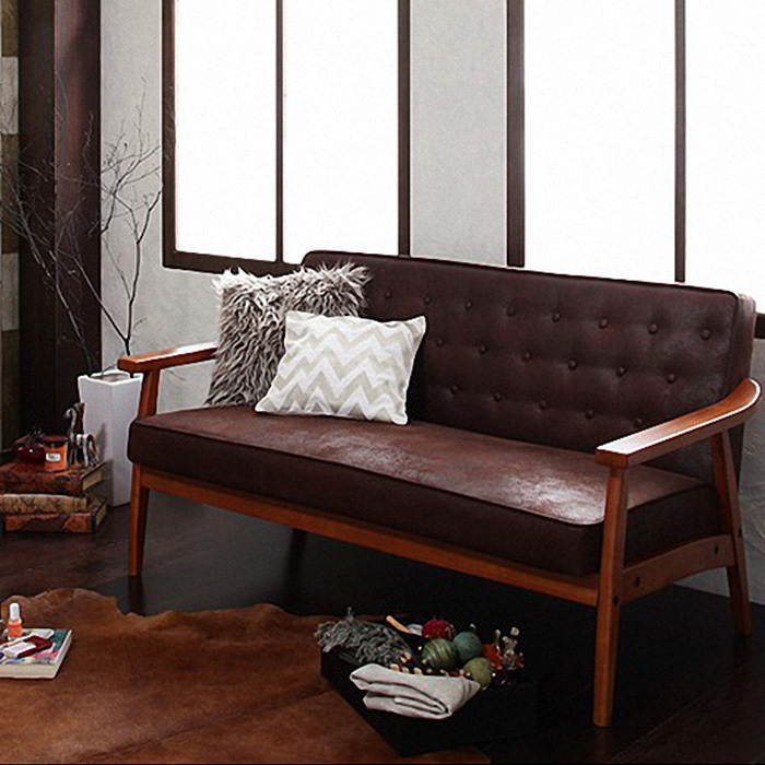 Groovy Retro Nostalgia Personality Matte Leather Furniture Wood Gmtry Best Dining Table And Chair Ideas Images Gmtryco