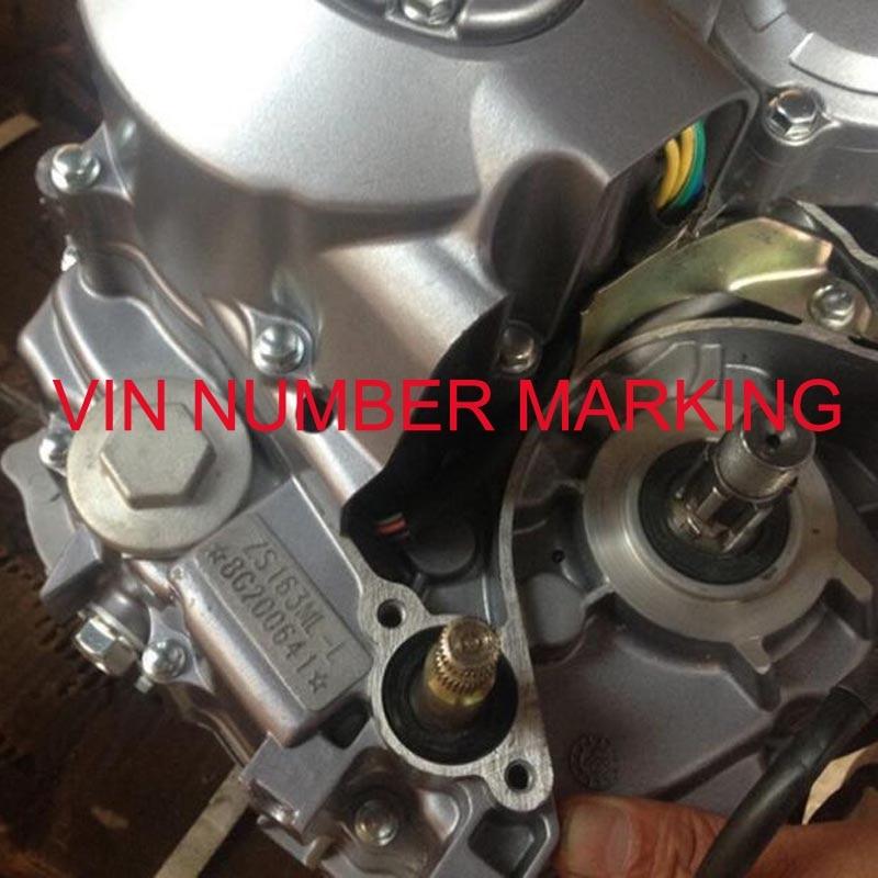 Pigi maža pramoninė pneumatinė mašina VIN numerio žymėjimo - Medienos apdirbimo įranga - Nuotrauka 3