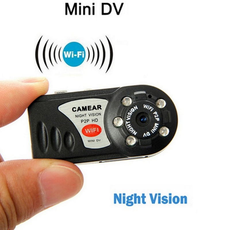 Q7 Mini WIFI Della Macchina Fotografica HD Mini Video Camcorder Wireless DV DVR Visione Notturna di IR Cam Recorder Infrarossi Micro Camera Home sicurezza