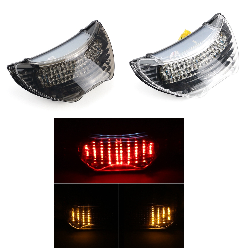 Smoke / Clear Motorcycle LED Brake Tail Light Turn Signal TailLight Case For Honda CBR 600 F4 1999-2000 / CBR 900 RR 1999 aftermarket free shipping motorcycle parts led tail brake light turn signals for honda 2000 2001 2002 2006 rc51 rvt1000r clear