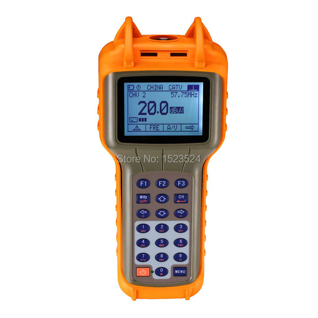 RY-S200 CATV 46-870 MHz Digital Medidor de Nivel de Señal