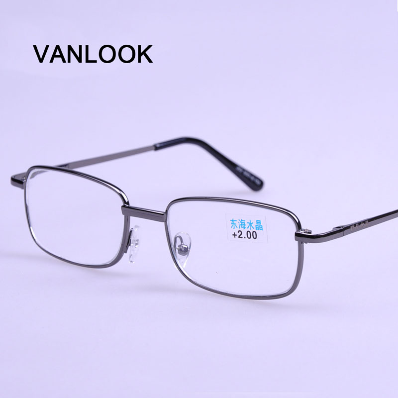 Reading Glasses for Men +1.00 +1.50 +2.00 +2.50 +3.00 +3.50 +4.00 Spectacles for Farsight Gafas de Lectura Gunmetal Grey