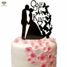 Custom Wedding Cake Topper One of A Kind Wedding Cake Picks Stand Acrylic Glitter Wedding Cake Decoration Party Supplies