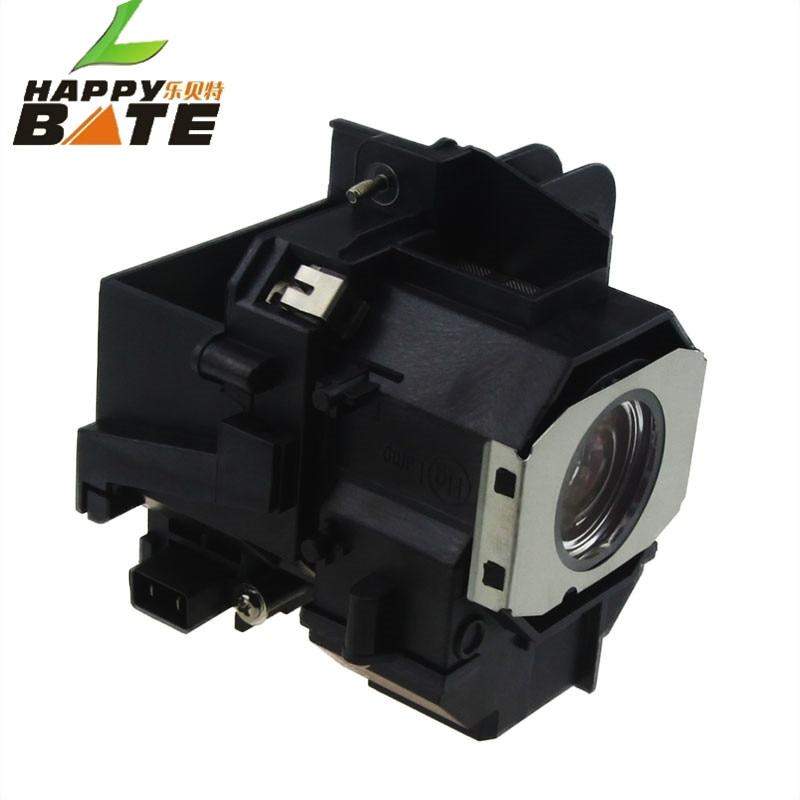 HAPPYBATE ELPLP49 / V13H010L49 Compatibele lamp met behuizing voor - Home audio en video - Foto 2