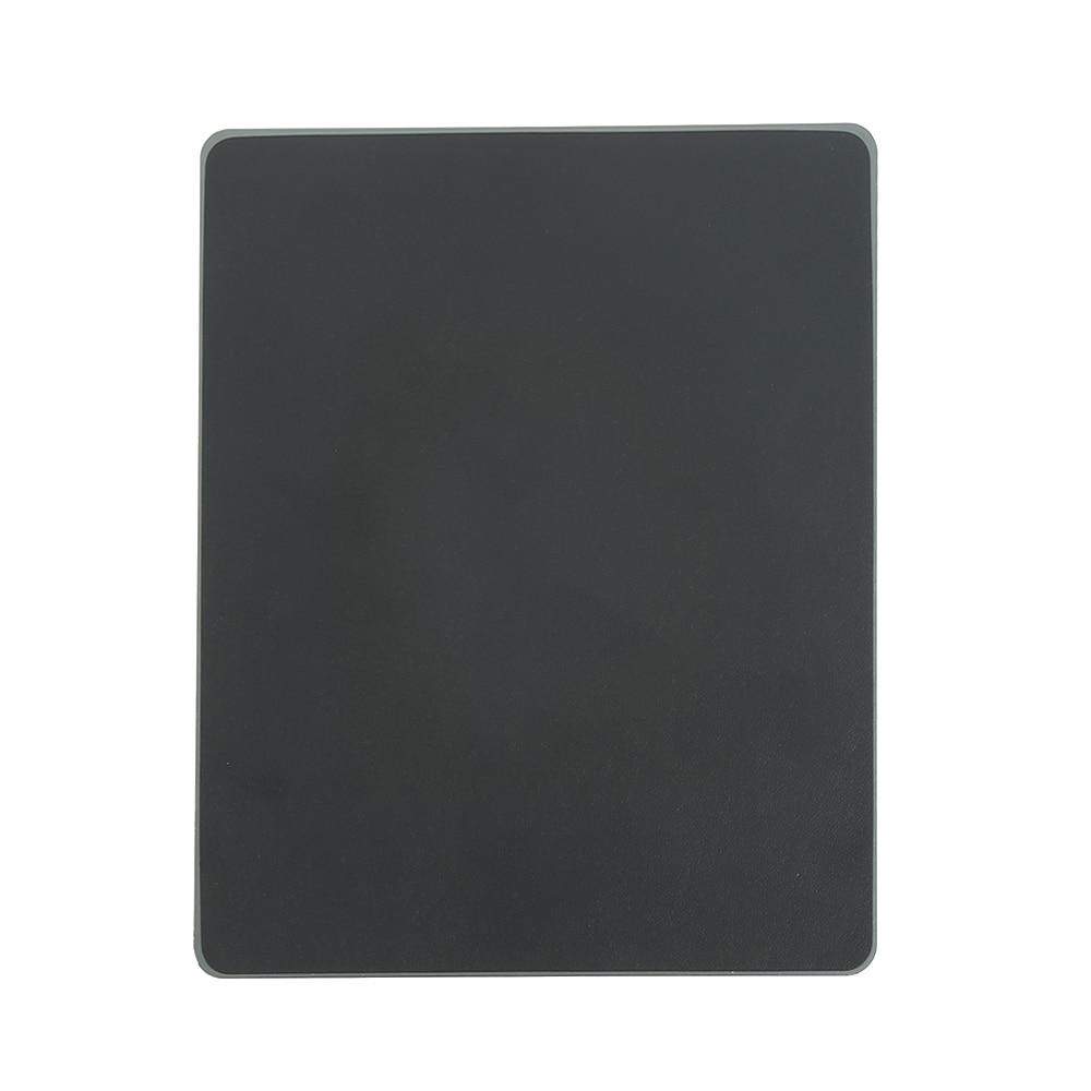 2017 New 1 Pcs Square Aluminum alloy Pad with Non-Slip Rubber Bottom Mouse Pad anti slip Mousepad Gaming Mat Mouse