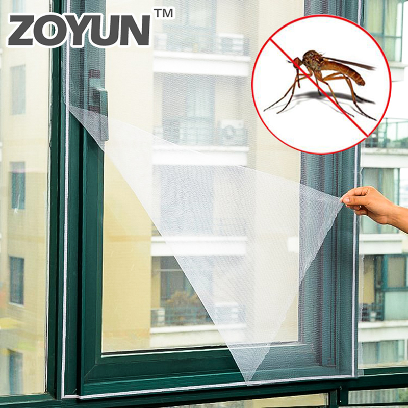 Anti-insect fly bug mosquito`door window curtain net mesh/' screen protect YM6K