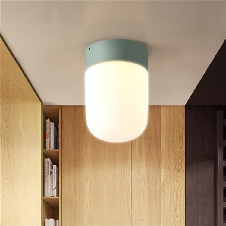 Artpad Modern Pendant Ceiling Lamps Glass Lampshade E27 Metal LED Ceiling Light for Living Room Kitchen Balcony Aisle Porch modern led ceiling lamp aisle simple living room porch balcony study room long lamp