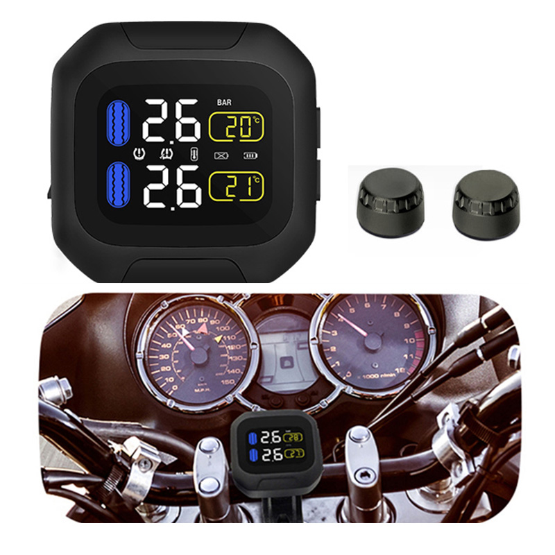 Aliexpress Buy CAREUD Motor TPMS Wirelss Moto Tire Pressure