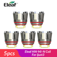 Original Eleaf HW Coil head and HW Dual head HW-M / HW-N replacement coil head for ijust 3 /ELLO Duro / istick VATE E-Cigarette