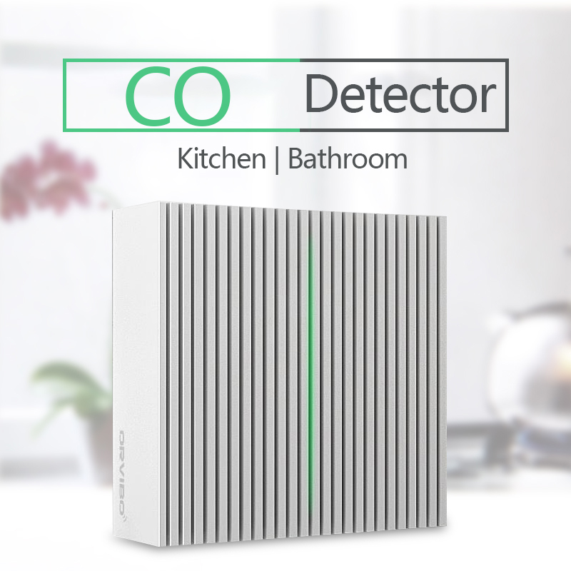 Orvibo Smart Wi-Fi CO датчик угарного газа сигнализация газ удаленный мониторинг в режиме реального времени обнаружение утечки газа