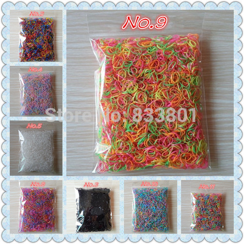 2014 New Child Baby TPU Hair Holders Rubber Bands Elastics Girl s Tie Gum About 3000pcs bag small size