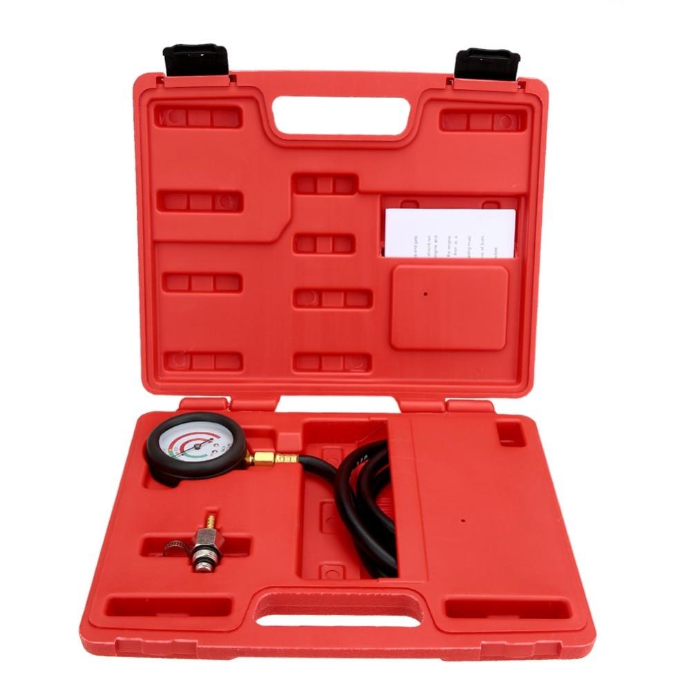 Hot Sale Professional  Exhaust Back Pressure Tester Set Pressure Gauge Test Tool Kit Sensor cr508 diesel common rail pressure tester and simulator for bosch delphi denso sensor test tool diagnostic tools high pressure