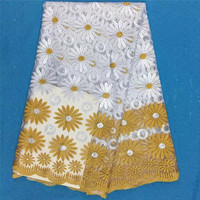 2017 Latest African Laces Fabrics Embroidered African Tulle French Lace Fabric 2017 African French Net Lace