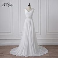 New Arrival 2016 Plus Size Wedding Dresses Custom Made A Line Vestidos De Novia Floor Length