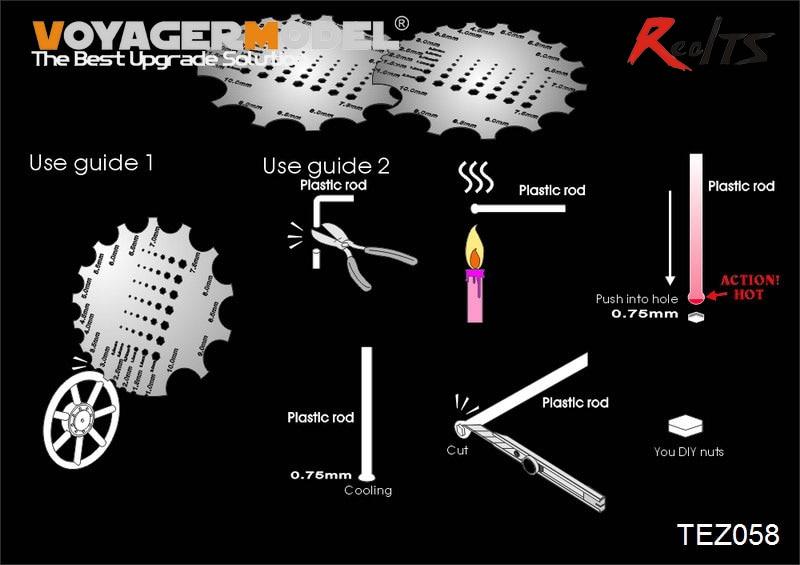 RealTS Voyager TEZ058 Scraper Tool W/Nuts Maker (GP)