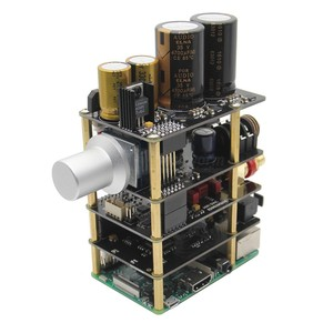 Image 5 - פטל Pi X20 Hifi אודיו ערכת (X20 ES9028Q2M DAC לוח/X10 I2S לוח/X10 PWR אספקת חשמל לוח/ x10 HPAMP מגבר (KitB))