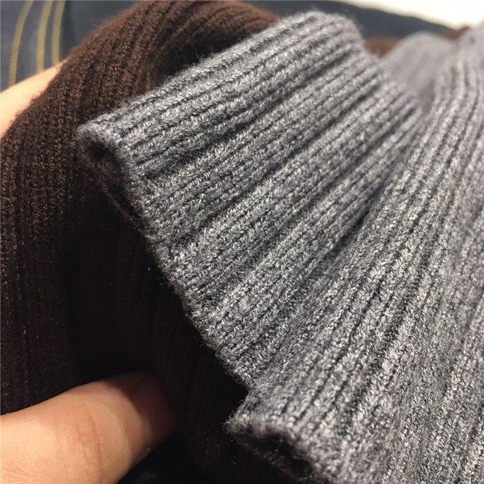 Femmes pantalons limités coton laine aucun Lulu Leggings 2018 automne et hiver nouveau Vertical tricot large jambe femmes lâche femme