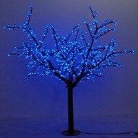 Waterprood IP65 светодио дный Cherry Blossom дерево света светодио дный синтетический 480 шт. светодио дный лампы полностью 1,5 м высота Рождественская елка