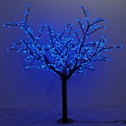 Waterprood IP65 LED Cherry Blossom Tree Light LED  synthetic 480pcs LED Bulbs totally 1.5m Height  Christmas tree light