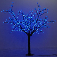 Vender Waterprood IP65 LED LUZ DE Árbol de flor de cereza LED sintético 480 Uds bombillas LED