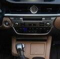 Para Lexus ES250 ES350 ES300h ES200 no controle dashboard guarnição tira 2015 U-em forma de lantejoulas decorativas