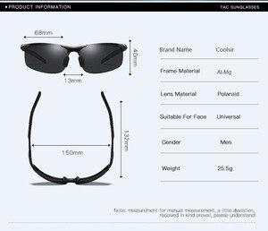 Image 4 - Bruno Dunn Driving polarized Men sunglasses 2020 sports High Quality UV400 Aluminum sun glasses for male oculos de sol masculino