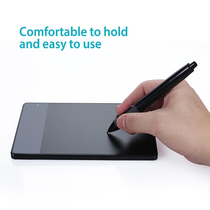 HUION PEN68 Graphic Tablets Pen Digital Pen Touch Screen Stylus Battery Pen Black--P68 5