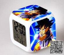 Dragon Ball Z Collection Alarm LED Clock