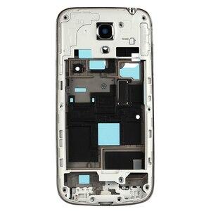 Image 3 - Yeni Tam Set Samsung Galaxy S4 mini i9190 i9192 i9195 Konut Case + Orta Çerçeve + arka kapak + Ön cam + Yapıştırıcı + Araçları