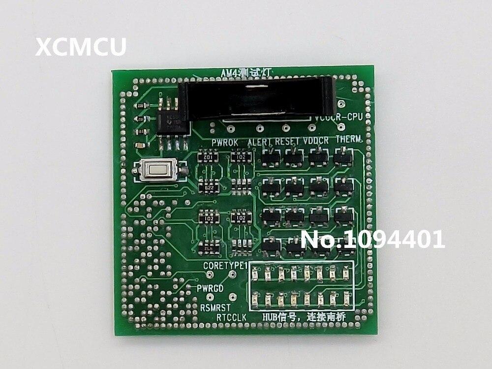 1piece* Brand New Desktop AM4 CPU Socket Tester Dummy Load Fake Load with LED Indicator
