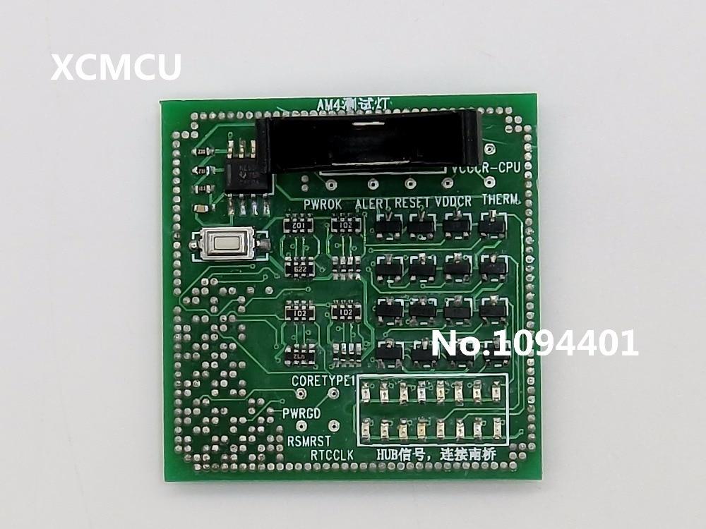 1 pièce * Marque Nouveau Bureau AM4 CPU Socket Testeur Charge Fictive Faux Charge avec Indicateur LED