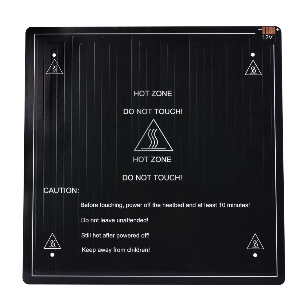 купить 3D Printer parts MK3 Heatbed 300*300*3m Aluminum CR10 Hotbed Hot Plate For Mendel For 3D Printer RepRap MK2B по цене 3155.61 рублей