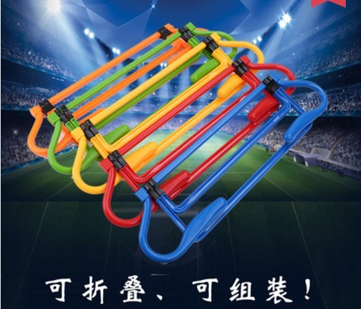 Football Training Hurdle Height Adjustable Removable Barrier Frame Soccer Practice Speed Agility Equipment Football Accessories