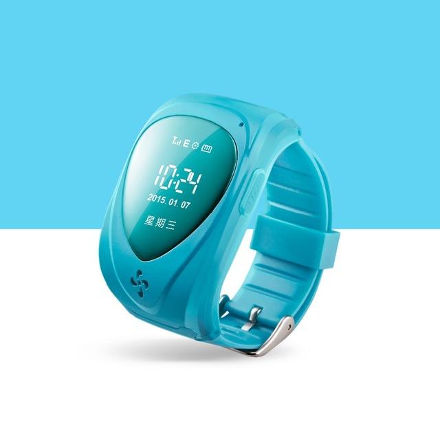 Relógio GPS Tracker Crianças venda Quente SOS Anti-perdido Do Monitor Inteligente relógios Azul Verde 12 Idiomas GPS Watch Free grátis JM09
