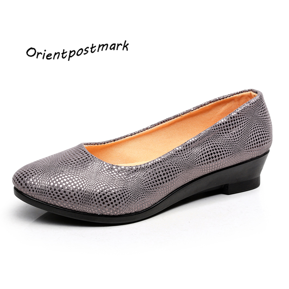 New Women Ballet Flats Pregnant Shoes Work Shoes Women ...