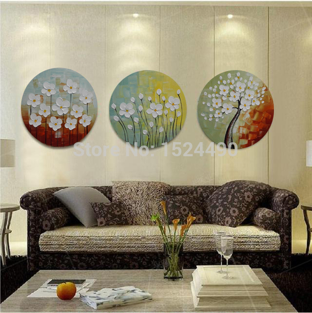 Buy Round Painting 3pcs Set 100
