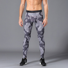 Compression Pants Running Tights Men Training Sports gym leggings men Jogging Trousers Camouflage Sportswear Brand pants men hot