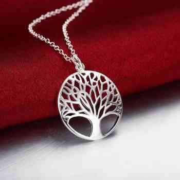 The tree of life collares populares joias