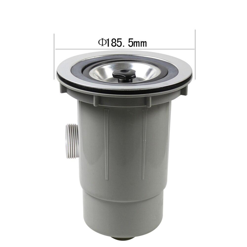 Tamis pour évier de cuisine en acier inoxydable Talea filtre à panier filtre à encre