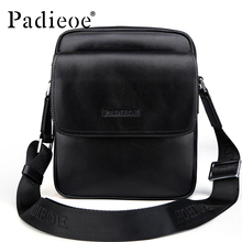 2016 new arrival men's real cowskin leather small shoulder bag high quality stylish crossbody bags casual purse for business man