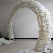 20x50 см свадебные украшения арки цветок строк вечерние прохода декоративные дорога цитируется центральный поставки 10 шт./лот