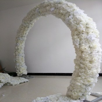 20x 50CM Wedding Decoration Arch Flower Rows Party Aisle Decorative Road Cited Centerpieces Supplies 10pcs/lot Free Shipping