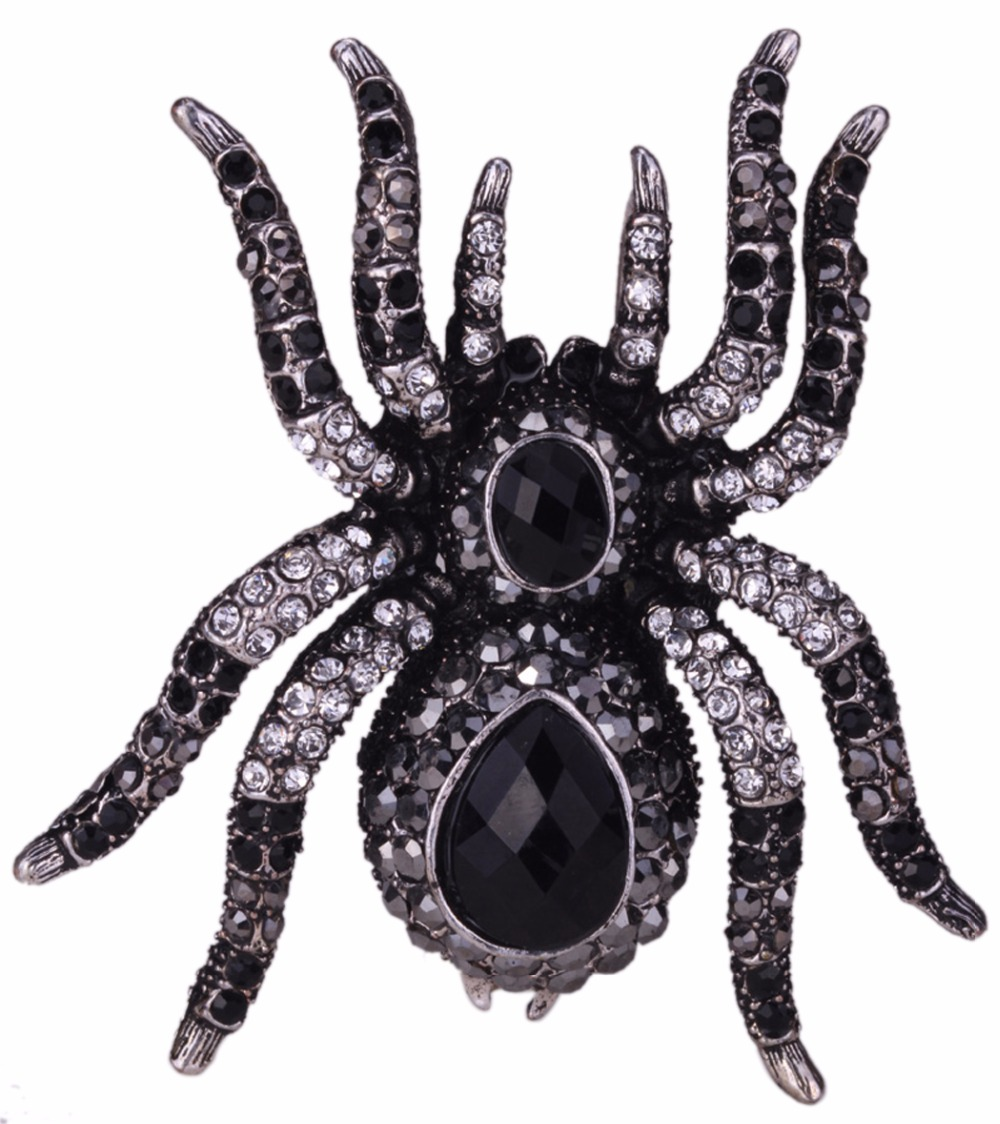 YACQ Spider Stretch Ring Scarf...