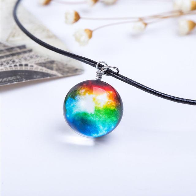 Nebula Galaxy Necklace For Women