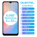 OUKITEL C15 Pro + 6 088 ''19:9 Android 9 0 мобильные телефоны 3 ГБ 32 ГБ MT6761  дроп 4G смартфон  отпечаток пальца  лицо ID 5G  WiFi телефон