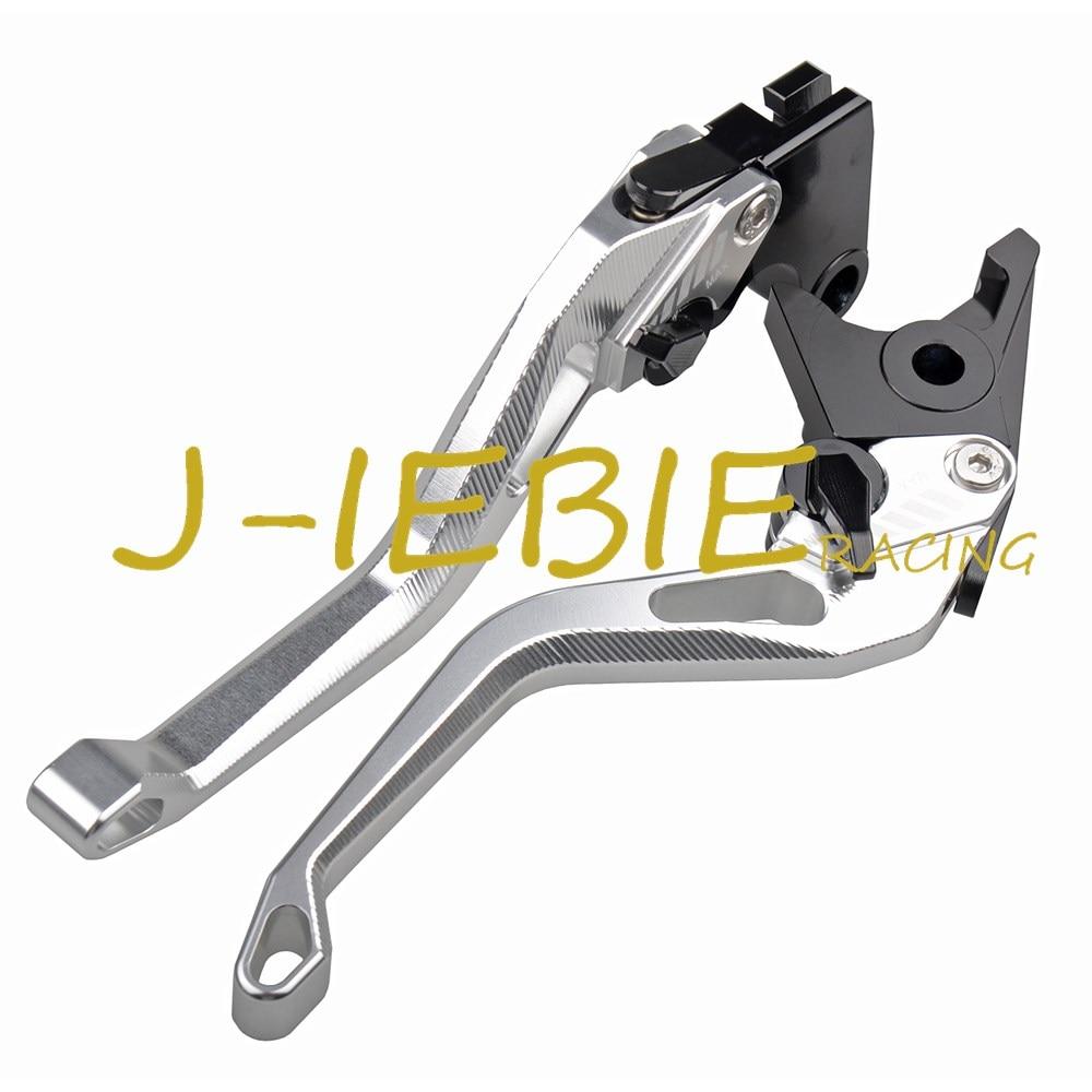 CNC allungabile pieghevole moto regolazione del freno leve frizione per Yamaha YZFR125/2008/2009/2010/2011