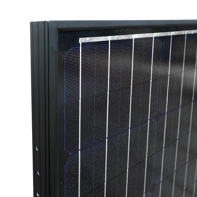 60w 18V Monocrystalline solar power cell panel for 12V battery charger