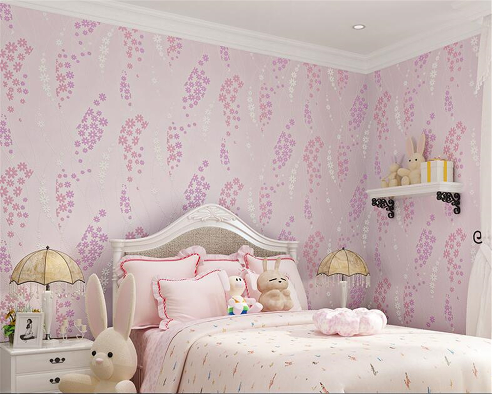 beibehang Simple leaf nonwoven fabric wallpaper warm bedroom living room full of sofa TV background wall papel de parede tapety beibehang stereo 3d nonwoven fabric wallpaper warm bedroom living room full of european style pastoral flowers wallpaper behang